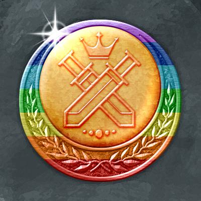 織姫のメダル