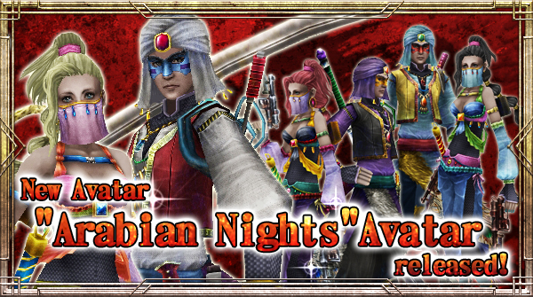 "New Avatar ""Arabian Night"" will be available!"