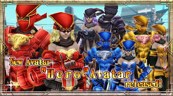 "New Avatar ""Hero"" will be available!"