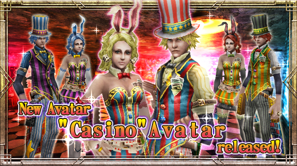 "New Avatar ""Casino"" will be available!"