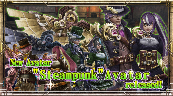 "New Avatar ""Steampunk"" will be available!"