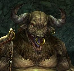 憤怒のミノタウロス