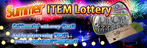 "Get An All-New Box with the ""Summer Item Lottery""!"