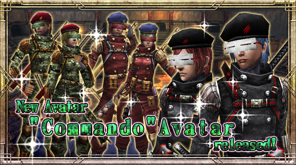 "New Avatar ""Commando"" will be available!"