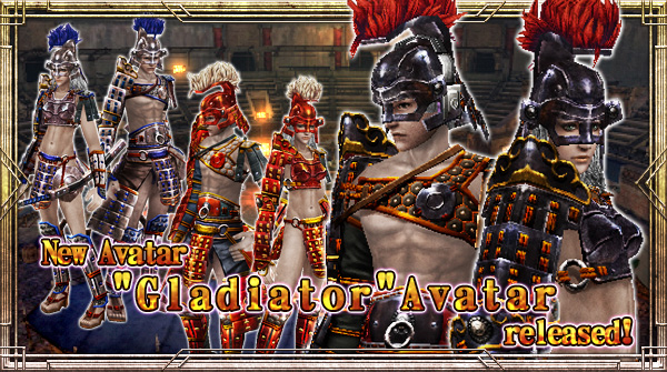 "New Avatar ""Gladiator"" will be available!"