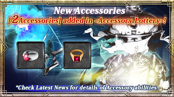 2 New Accessories added in Accessory Lottery!