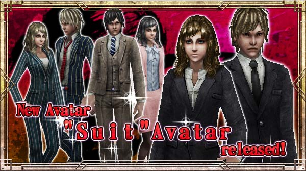 "New Avatar ""Suit"" will be available!"