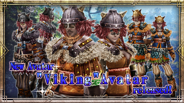 "New Avatar ""Viking"" will be available!"