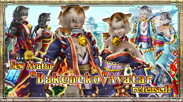 "New Avatar ""Bakeneko"" will be available!"