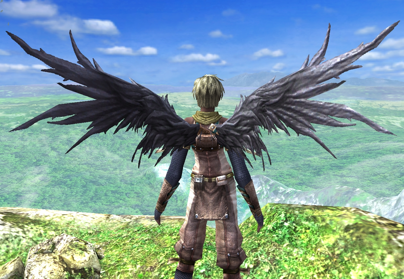 死神の翼(春)